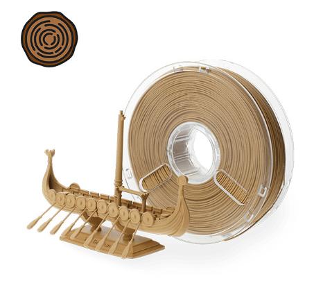 Filament texture bois impression 3D Fabrication designer fabrication créatif Prototype prototypage Paris ingénieur mécanique développement Paris projet impression 3d cooprint