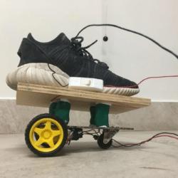 Prototype moche roller électrique